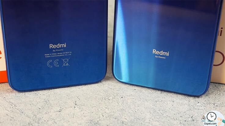 Сравнение ГЛОБАЛЬНОГО Redmi Note 7 и китайской версии - надписи на обратной стороне