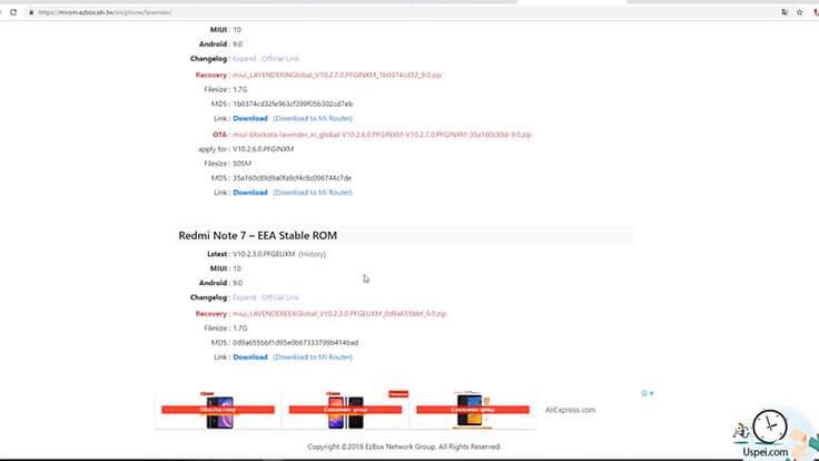 Сравнение ГЛОБАЛЬНОГО Redmi Note 7 и китайской версии -Global Stable ROM