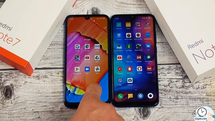 Сравнение ГЛОБАЛЬНОГО Redmi Note 7 и китайской версии - быстро работают обе версии