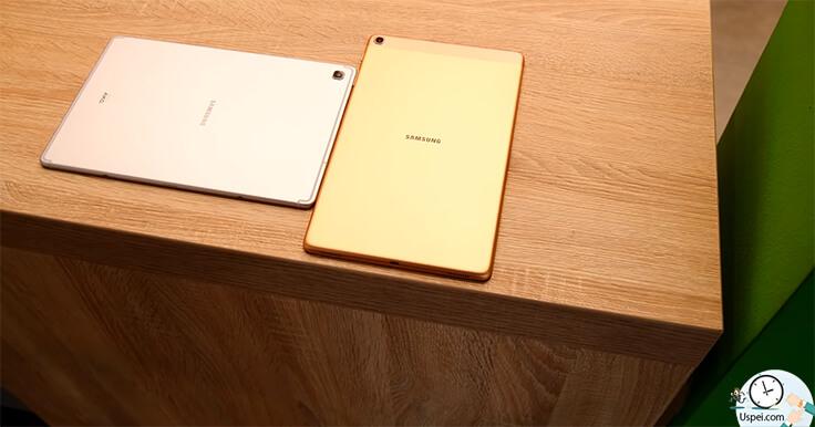 Обзор планшетов Samsung Galaxy Tab S5e и Tab A 2019 - расцветки