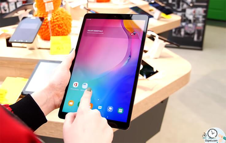 Обзор планшетов Samsung Galaxy Tab S5e и Tab A 2019 - IPS матрицы