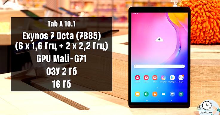 Железо Galaxy Tab A 10.1