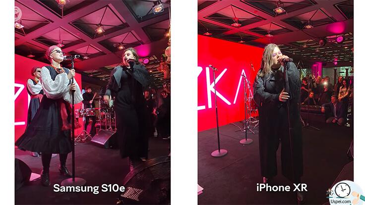 Сравнение Samsung S10e и iPhone XR - ночные фото