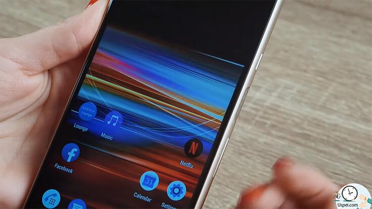 10 фактов о Sony Xperia 10 и Xperia 10 Plus. Сканер отпечатков