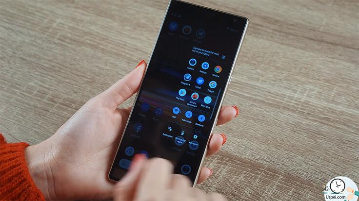 10 фактов о Sony Xperia 10 и Xperia 10 Plus. Интерфейс