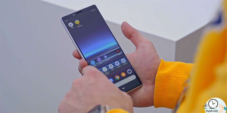 Sony Xperia 1 и Xperia 10 – android Pie
