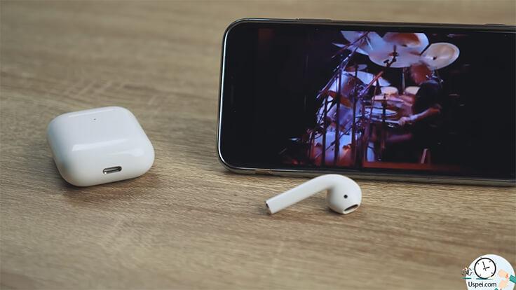 Найди 10 отличий: AirPods 2 VS AirPods - звук