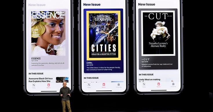 Новый сервис Apple Новости