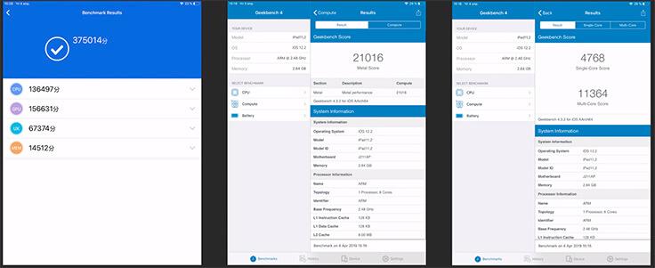 Обзор iPad Mini 5 - результаты в Antutu и Geekbench