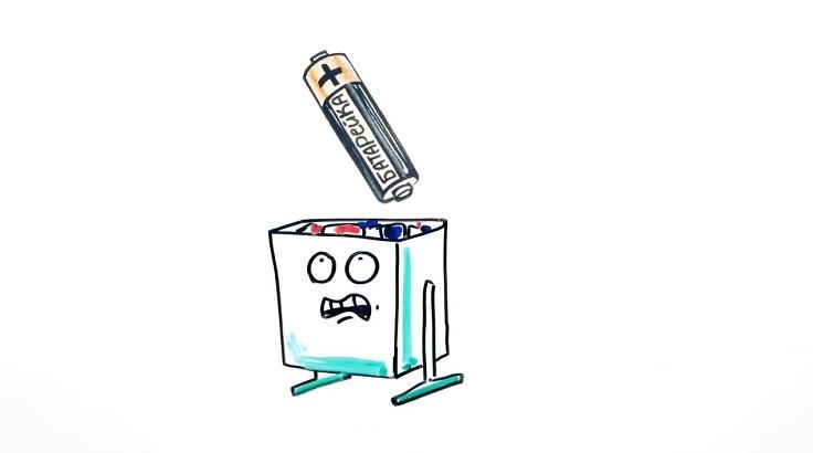 далеко не каждый из нас правильно утилизирует использованные батарейки