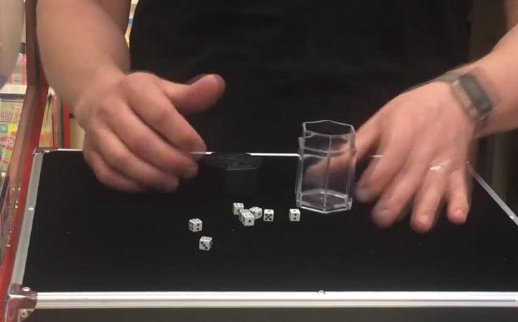 Кубик, который становится маленьким