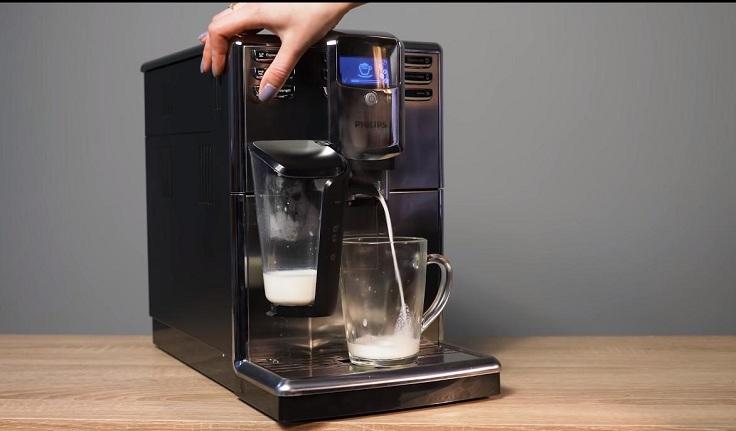 Настройки кофе- машины