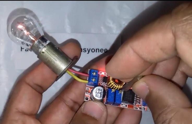 Стабилизатор напряжения для светодиодных ламп