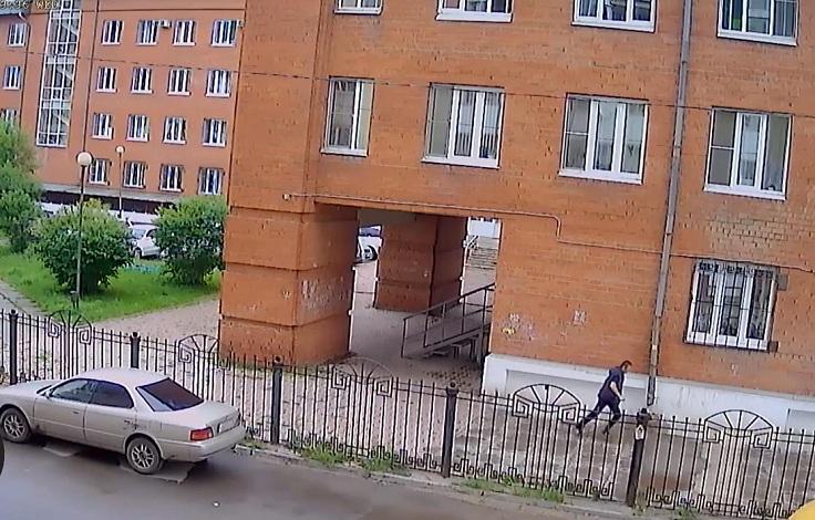 Cистема видеонаблюдения на 8 камер