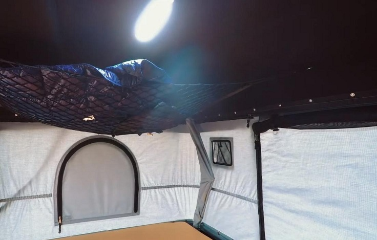 Раскладная палатка на крышу