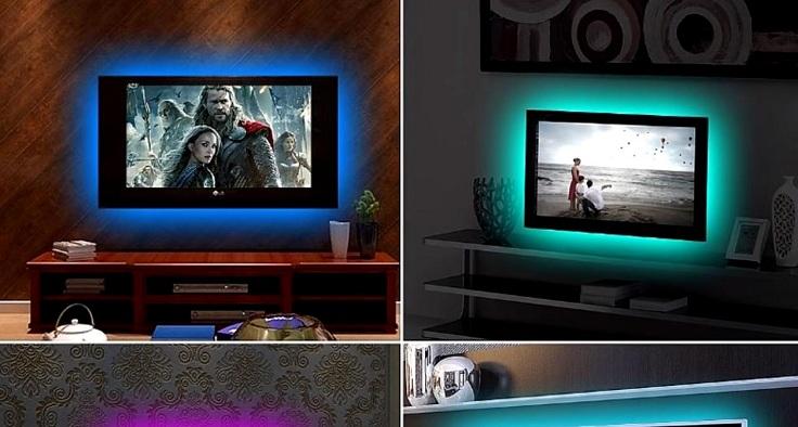 Фоновая светодиодная подсветка для ТВ