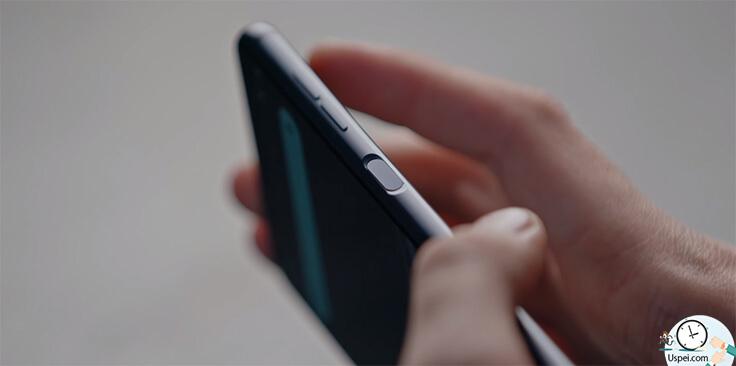 Hisense A6 - кнопка-сканер