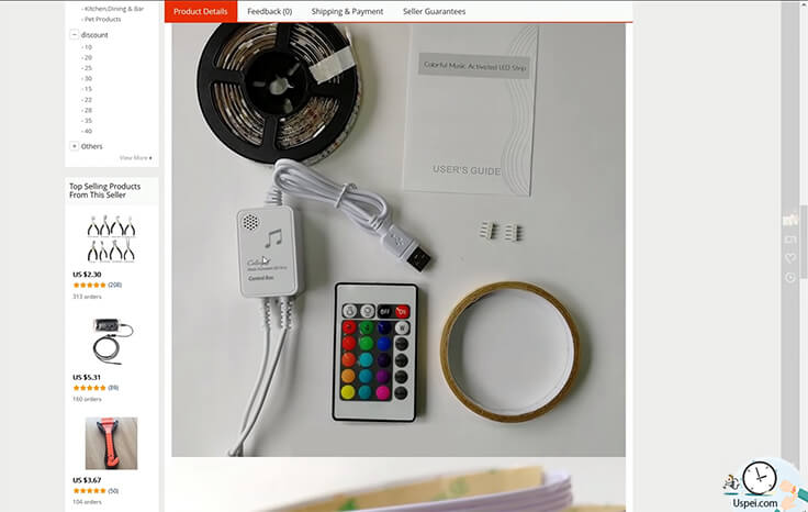 """если зайти на китайские площадки, там можно найти """"комплекты"""" Ambient light чуть ли не за 15-20 долларов"""