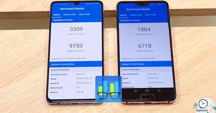 Huawei P20 VS P30. синтетические тесты