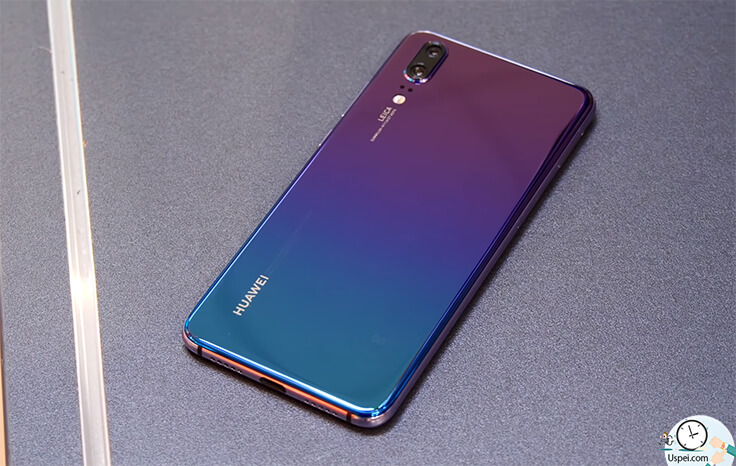 Huawei P20 VS P30. Красивый градиент
