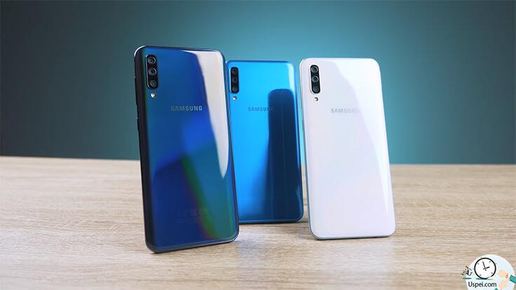 Обзор Samsung А30 и А50: три цвета