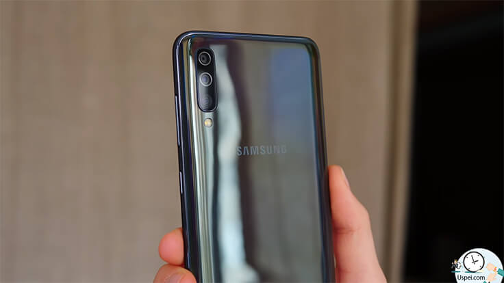 Samsung Galaxy A70 - камеры