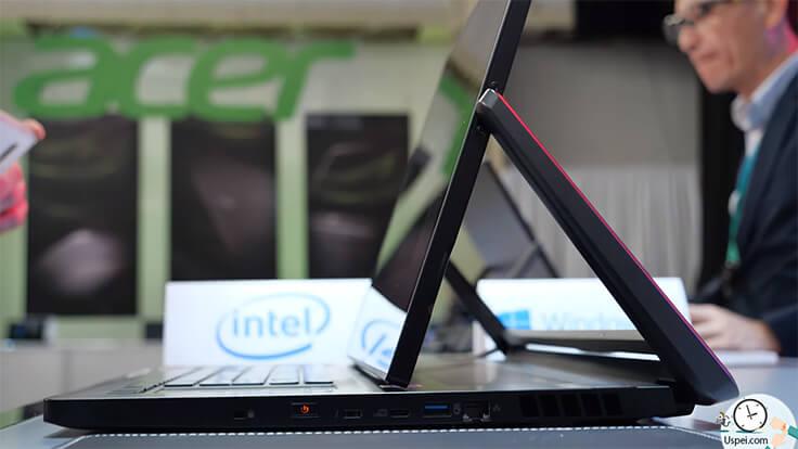 Топовый мобильный девайс линейки ConceptD 9 - ноутбук с вращающимся на шарнире семнадцатидюймовым экраном