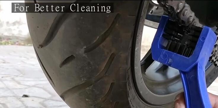 Щетка для чистки цепи