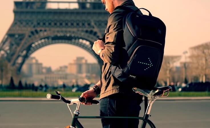 Накладка на рюкзак с поворотниками
