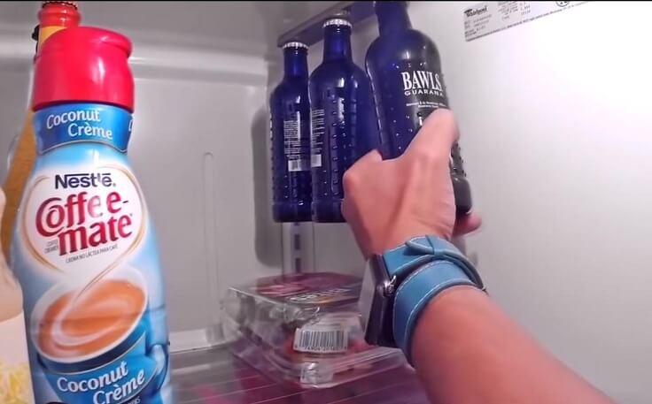 Магнитный держатель для бутылок