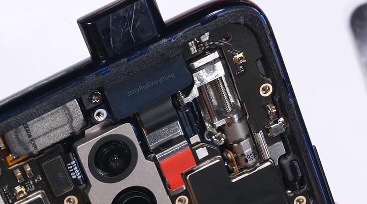 Выдвижная фронтальная камера