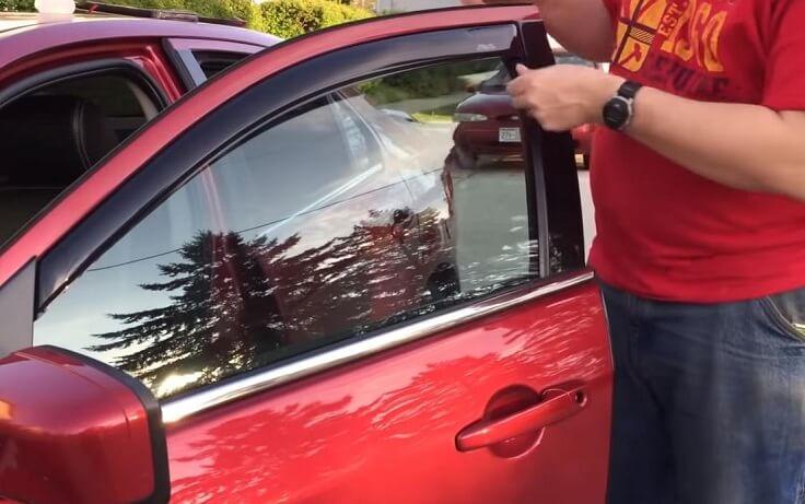 Дефлекторы боковых стекол