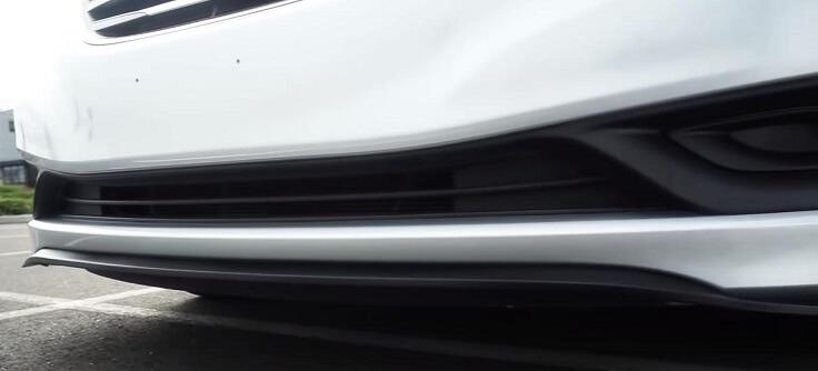 Универсальная резиновая автомобильная юбка под бампер