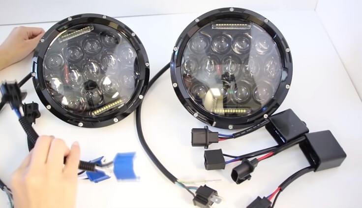 Светодиодные головные фары