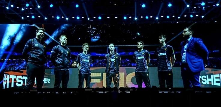 Компания стала спонсором киберспортивной команды Fnatic
