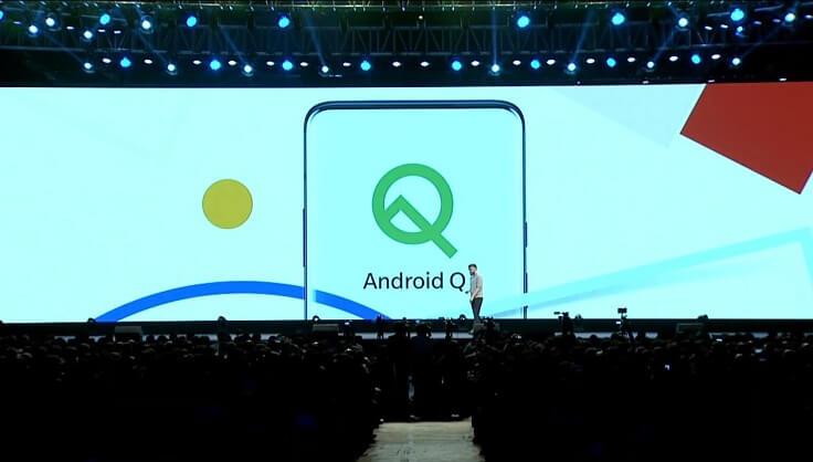 Смартфон одним из первых получит Android Q
