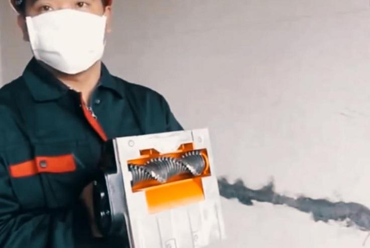 Машинка для снятия шпаклевки