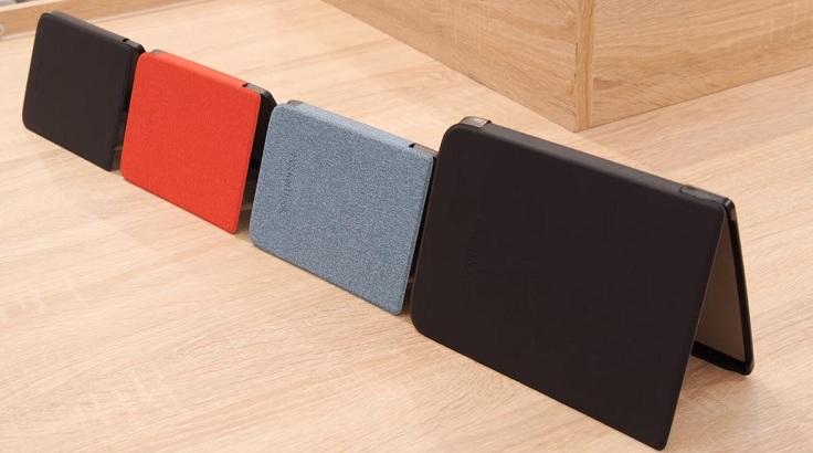 Pocket Book предлагают свои варианты чехлов на магнитных защелках.