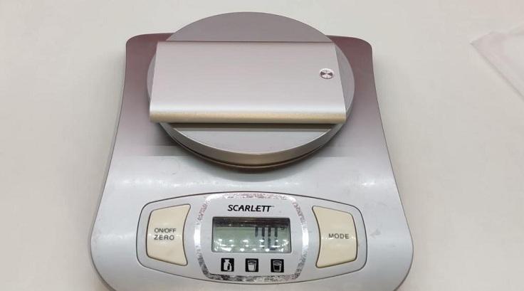 По весу есть отличия, почти в 20 грамм