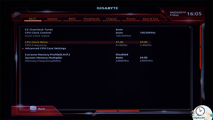 Разгон на материнке Gigabyte Ryzen/Intel