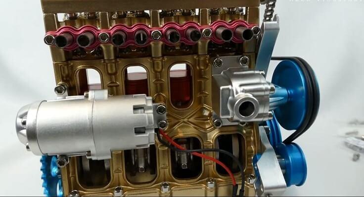 Конструктор двигатель