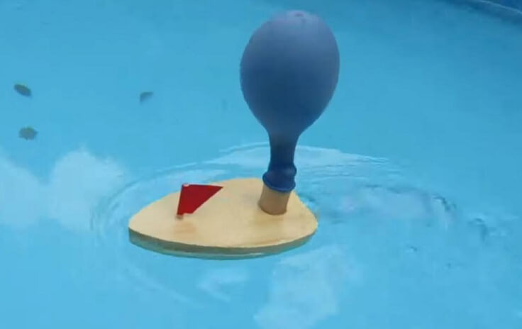 Кораблик с шаром