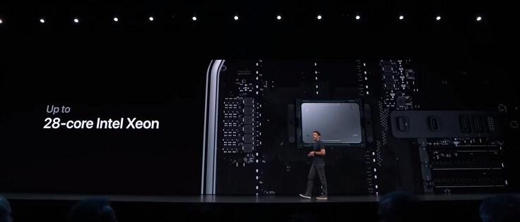 Процессоры зеон до 28 ядер, до полутора террабайт ОЗУ, 8 PCI-Express слотов