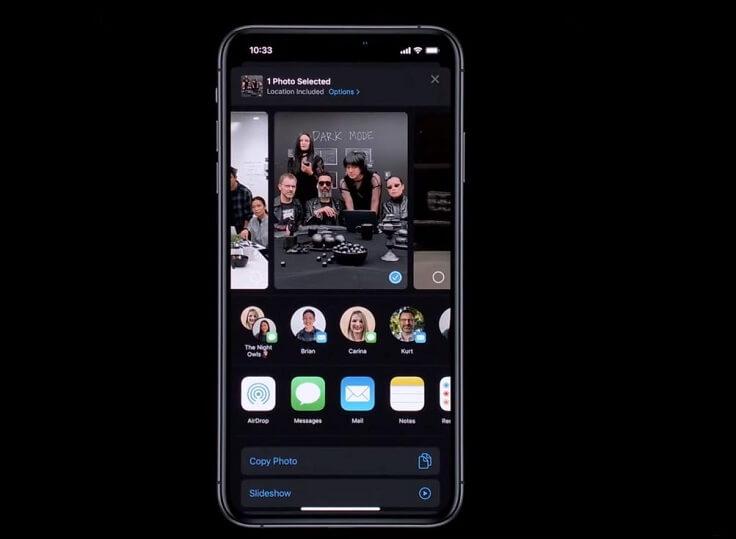 iOS будет предлагать подсказки контактов, как на Anroid