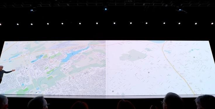 Apple карты также прокачали, стало похоже на 2ГИС и это только для США