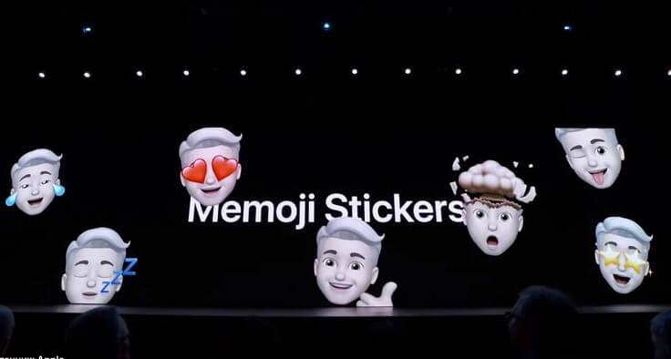 Теперь можно делать Memoji Stickers