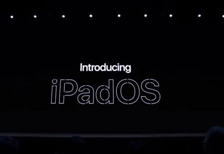 Для iPad выделена отдельная система – iPadOS!