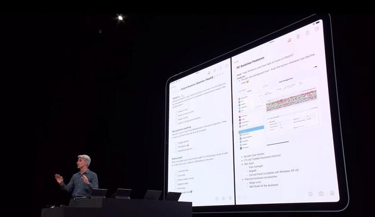 Можно разделять одно приложение сразу на две части
