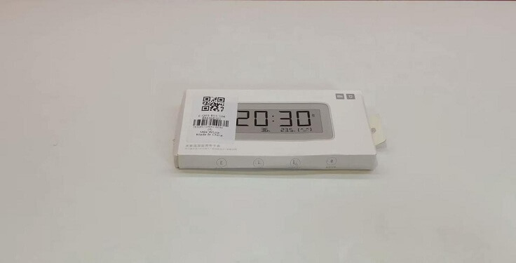 Пришли цифровые часы от Xiaomi Mijia