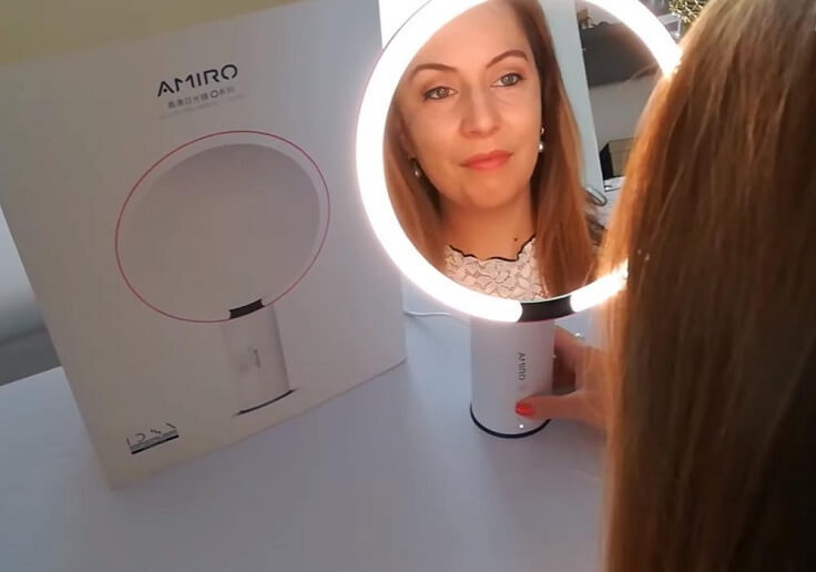 Зеркало со светодиодной подсветкой от Xiaomi